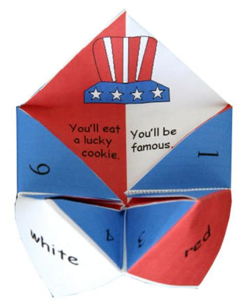 What to write in fortune teller paper